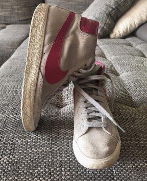 Nike Blazer Mid premium vintage Gr.38,5 grau-pink