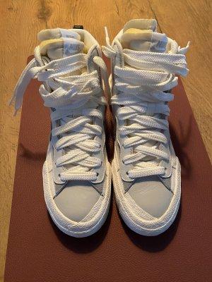 Nike Blazer Mid Sacai White Grey