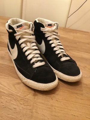 Nike High top sneaker zwart-wit