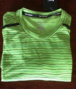 Nike Breathe Running Shirt Gr. M grün neu