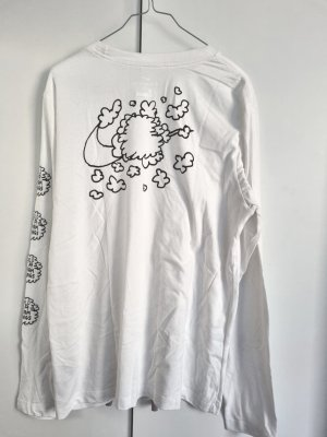 Nike Bubble Tshirt Swoosh Print L