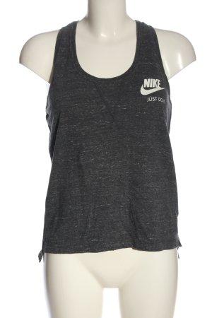 Nike Camisole hellgrau meliert Casual-Look