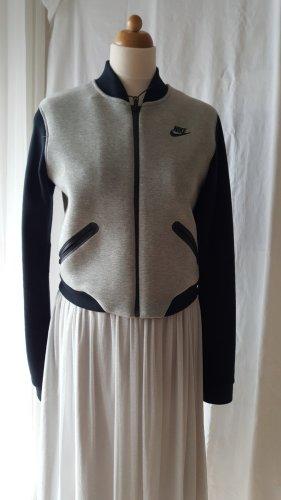 Nike Giacca college nero-grigio chiaro