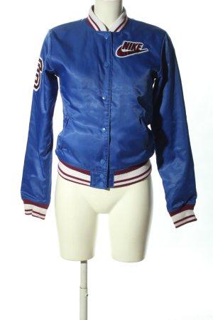 Nike College Jacket blue casual look