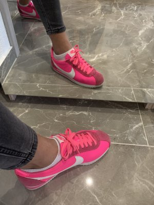 Nike Cortez Neon pink Neu
