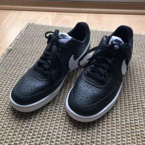 Nike Court Vision Low schwarz Sneaker Damen 38 NEU original