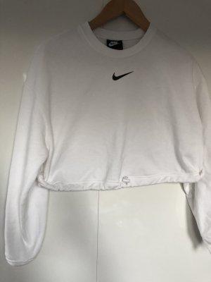 Nike Felpa bianco-nero
