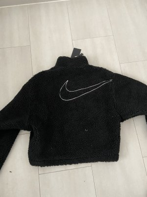 Nike cropped fleece Jacke
