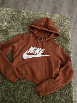 Nike Pull à capuche cognac-brun
