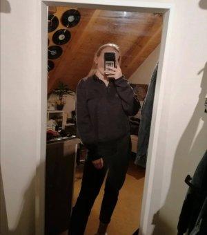 Nike cropped Pullover mit Fleecestoff innen XL