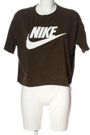 "Nike T-shirt court ""842826"" brun"