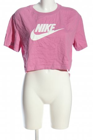 Nike Cropped Shirt pink Casual-Look