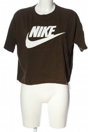 "Nike Cropped Shirt ""842826"" braun"