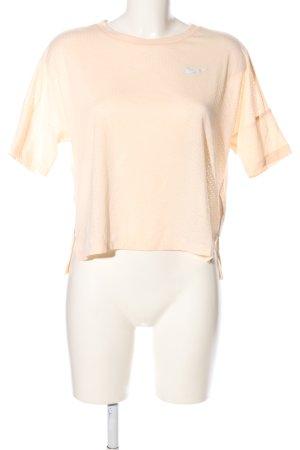 """Nike Cropped Shirt """"von Pepita"""" creme"""