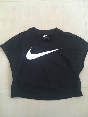 Nike Cropped Shirt T-Shirt Größe S schwarz