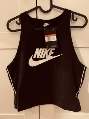 Nike T-shirt de sport noir-blanc
