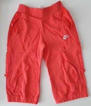 Nike Damen-Caprihose-Jersey 3/4 Hose Pink Gr. S