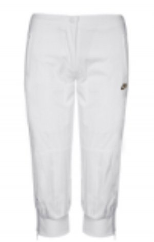 Nike Pantalone Capri bianco