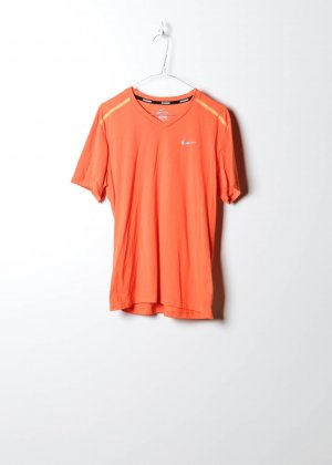 Nike Damen Sportshirt in Orange