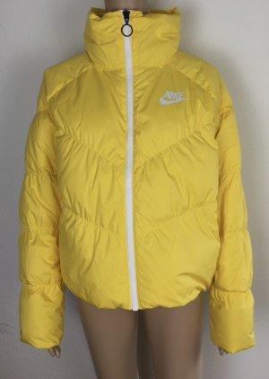 Nike, Daunenjacke, M, Gelb, Polyester, neu