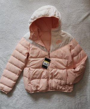 Nike Daunenjacke rose rosa weiß S 36 NEU Jacke Wendejacke