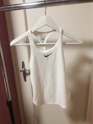 Nike Koszulka o kroju podkreślającym sylwetkę biały-czarny