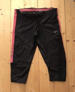 Nike Dri-Fit Funktionstights, 3/4, Größe M