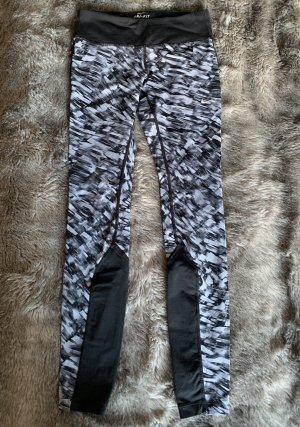 Nike dri-fit Hose Laufhose XS Running schwarz grau