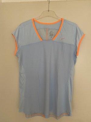 """Nike"" Dri-Fit Shirt, XL, hellblau/orange"