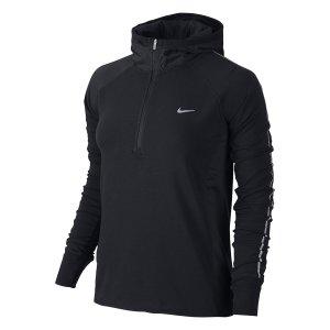 Nike Dri-FIT Sprint HZ Hoodie Schwarz/reflektierendes Silber
