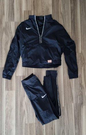 Nike Strój domowy biały-czarny