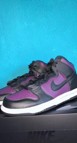 Nike Chaussure skate noir-violet foncé