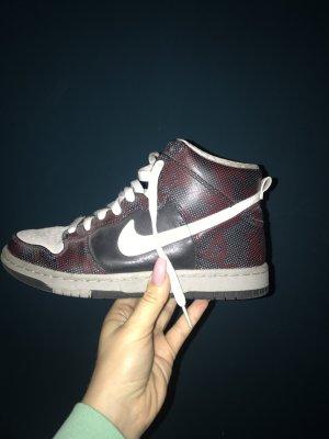 Nike Dunk High, 37,5, fast wie neu, Wildleder - upper