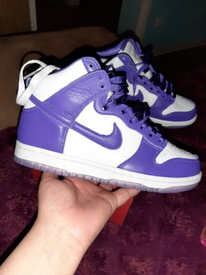 nike dunk high in 36.5 purple court neu original nike jordan