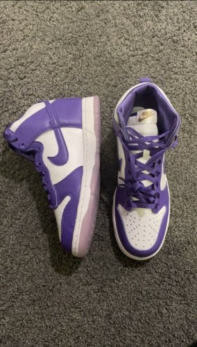 Nike Dunk high varsity purple