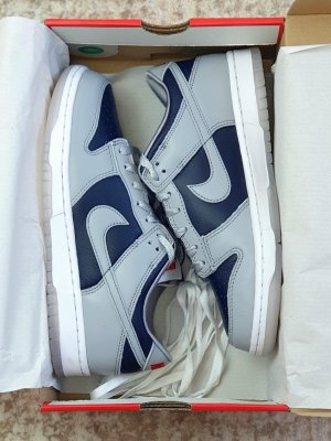 "Nike Dunk Low SP ""College Navy"""