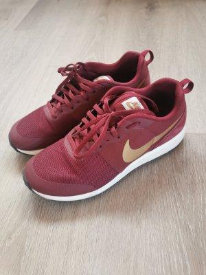 Nike elite shinsen weinrot/gold