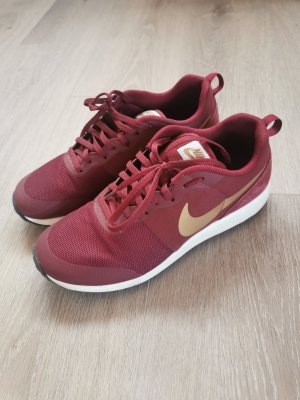 Nike Elite Shinsen weinrot/gold