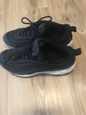 Nike High top sneaker zwart-wit
