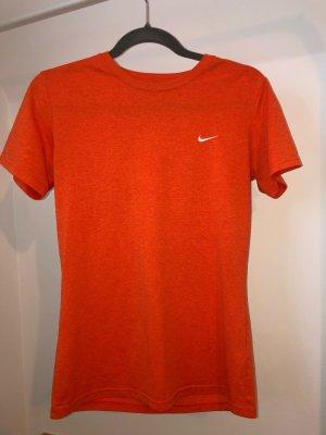 Nike Maglietta sport arancio neon-arancione