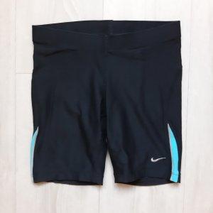 Nike Sportshort zwart-turkoois