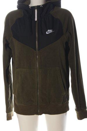 Nike Fleecejacke khaki sportlicher Stil