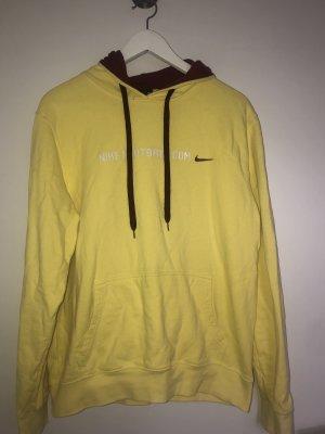 Nike Dri-FIT Hooded Sweater neon yellow