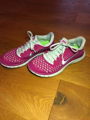 Nike Free 3.0 pink/weiß Gr.38
