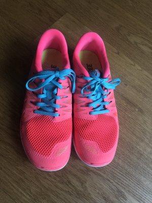 Nike free in pink und türkis Größe 40