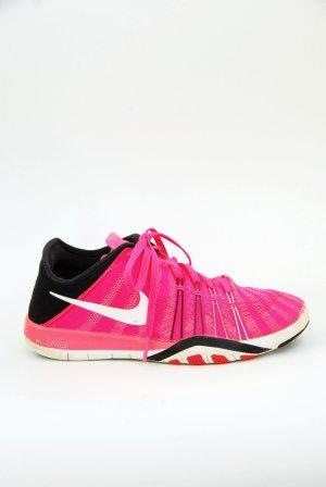 Nike Sneakers met veters neonroos-zwart