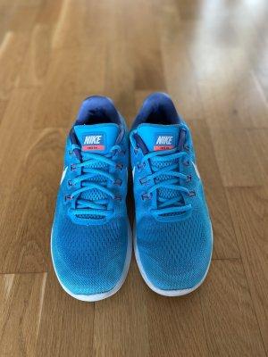 Nike Free Run 40 blau Sneaker Laufschuhe