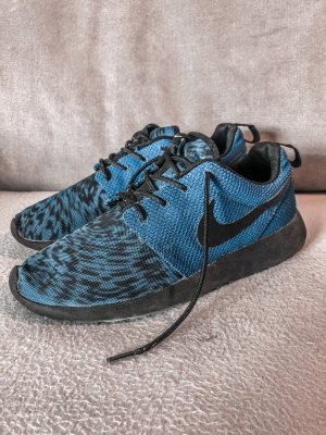 Nike Free Run iD prime Knit blau schwarz Tiger