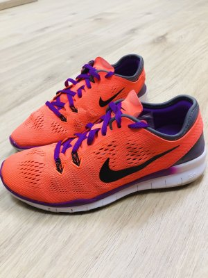 Nike Free TR FIT 5.0 Laufschuhe 36,5 704674-801 hyper orange