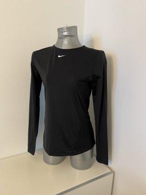 Nike Funktionshirt, schwarz, Gr. M